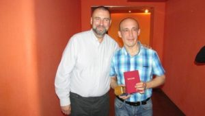 Pastor Koshelev, Russia